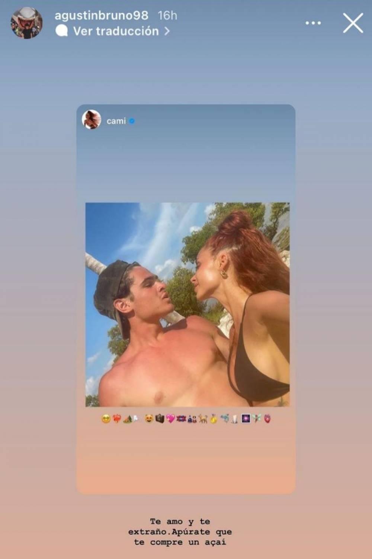 Cami Gallardo encanta con románticas fotos junto a su pololo