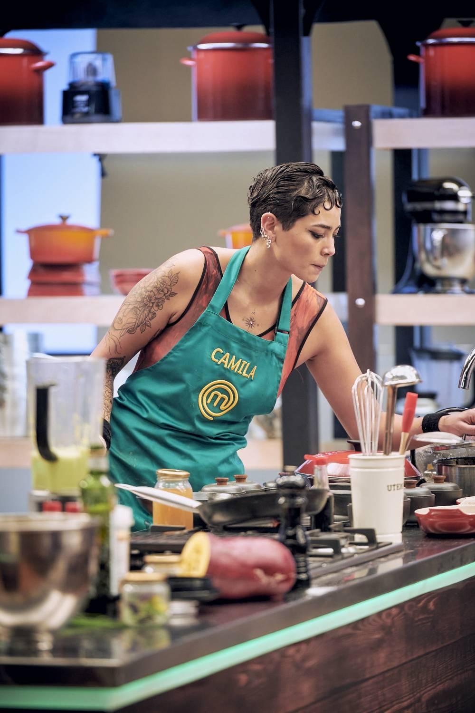 Camila Recabarren se puso nerviosa por presencia del chef Jorge mientras emplataba
