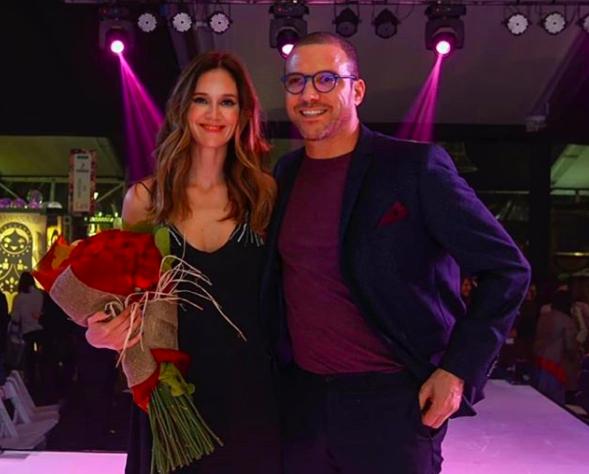 Julián Elfenbein y Daniela Kirberg
