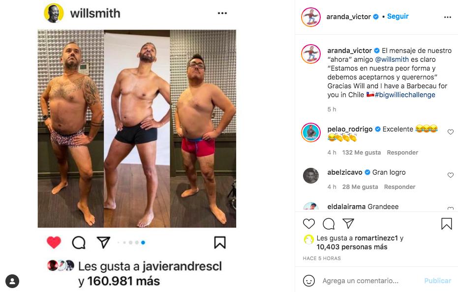 Víctor Aranda y Osvaldo Solorza will smith