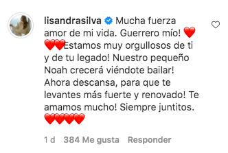 Comentario Lisandra Silva