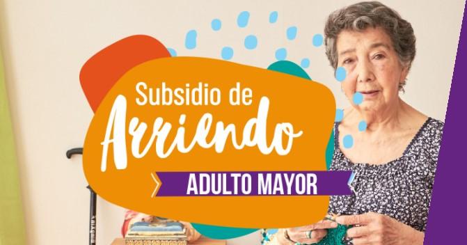 Subsidio de Arriendo para adulto mayor