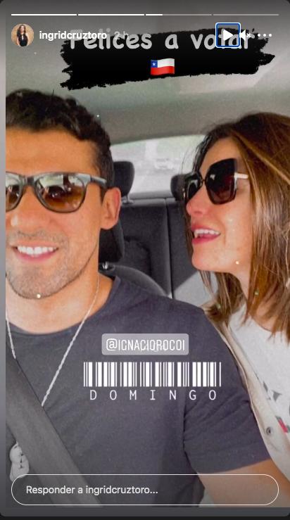 Ingrid Cruz e Ignacio Rocco
