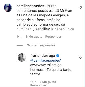 Francisca Undurraga envía potente mensaje a los haters