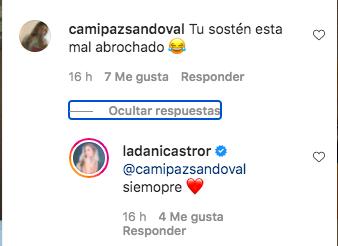 """""""Está mal abrochado"""": Daniela Castro se luce posando en lencería"""
