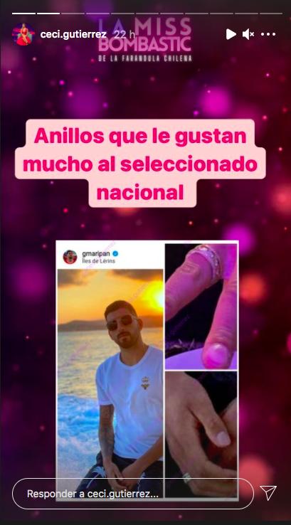 ¡Al fin! Guillermo Maripán confirma relación con Constanza Ríos