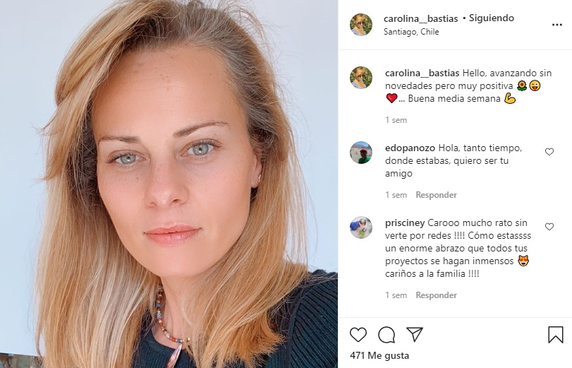 "Así luce actualmente Carolina Bastías a 12 años de ""Amor Ciego"""