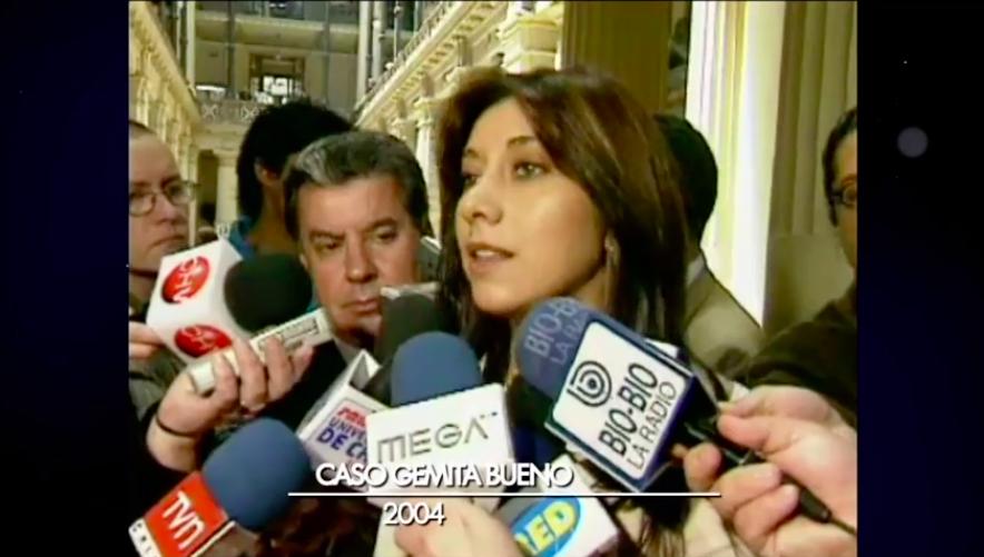 Carmen Gloria Arroyo y su particular color de ojos al empezar su carrera