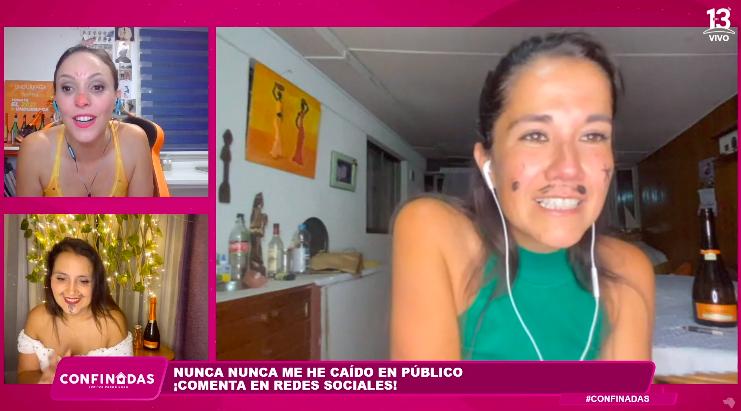 Carolina Soto en Confinadas