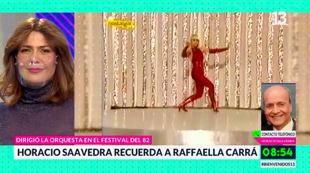 Horacio Saavedra contó detalles de la presentación de Raffaella Carrà en Viña 82