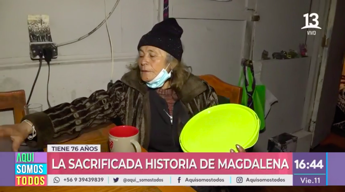 Nos activamos por Magdalena y su historia de esfuerzo