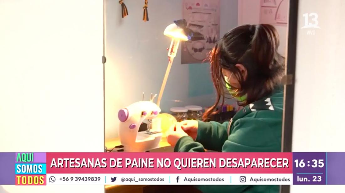 ¡Nos activamos por la gran labor de las artesanas de Paine!