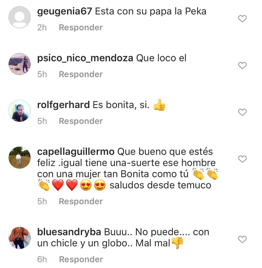 Pololo de Ingrid Parra enfrenta molestosos comentarios por selfie
