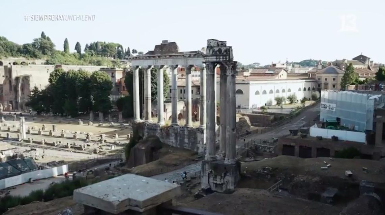 Conocimos el Coliseo de Roma y el Teatro de la Ópera junto a Arturo