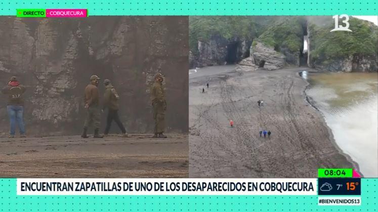 Intensa búsqueda de jóvenes desaparecidos en Cobquecura