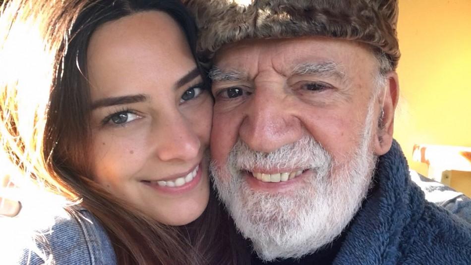 Daniela Castillo revela el complejo estado de salud de su padre