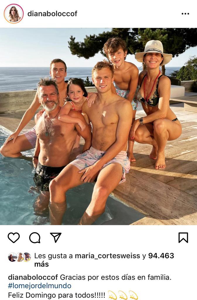 Diana Bolocco muestra lo grandes que están todos sus hijos