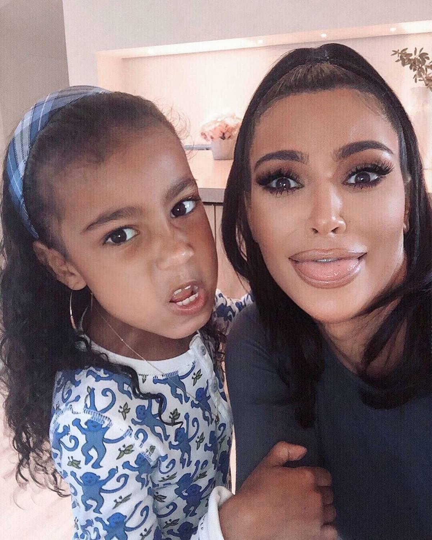 Kim Kardashian celebra los 8 años de North West