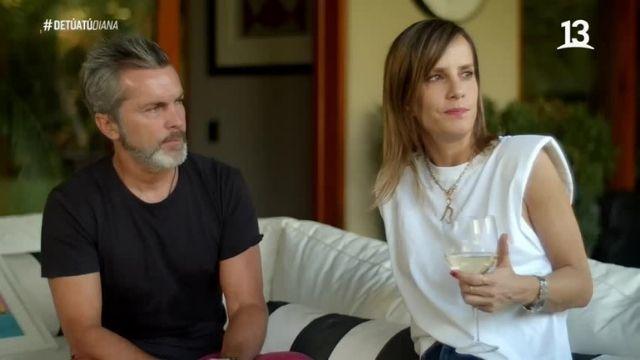 """Diana Bolocco y Cristián Sánchez en """"De tú a tú"""""""