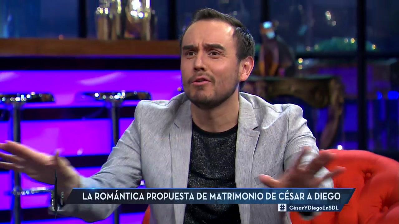 Marido de César Campos cuenta cómo le propuso matrimonio