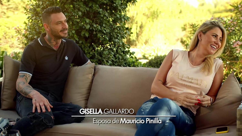 Mauricio Pinilla y Gisella Gallardo