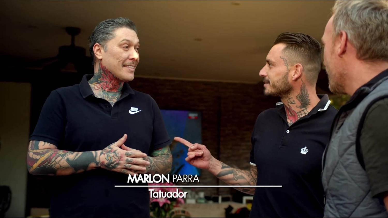 Martín Cárcamo, Marlon Parra y Mauricio Pinilla