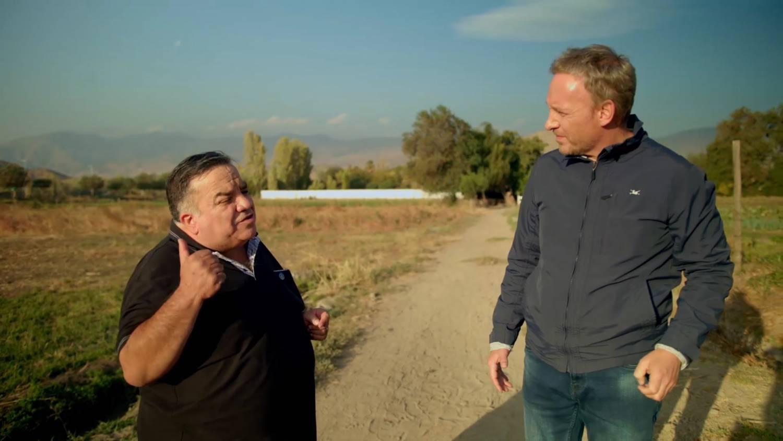 Arturo Guerrero y Martín Cárcamo