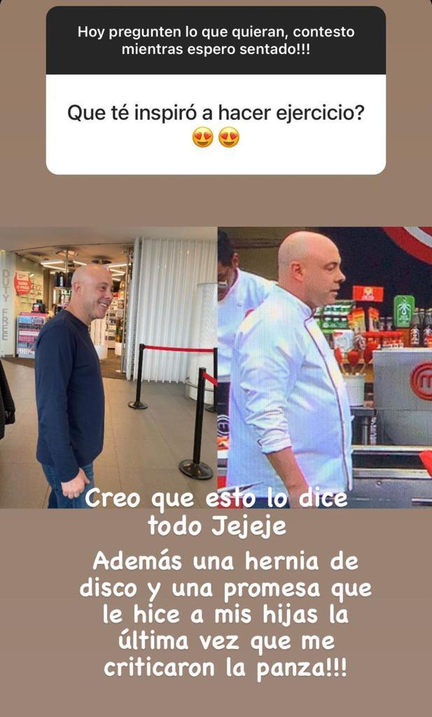 Jurado de MasterChef Chile desclasifica su drástica baja de peso
