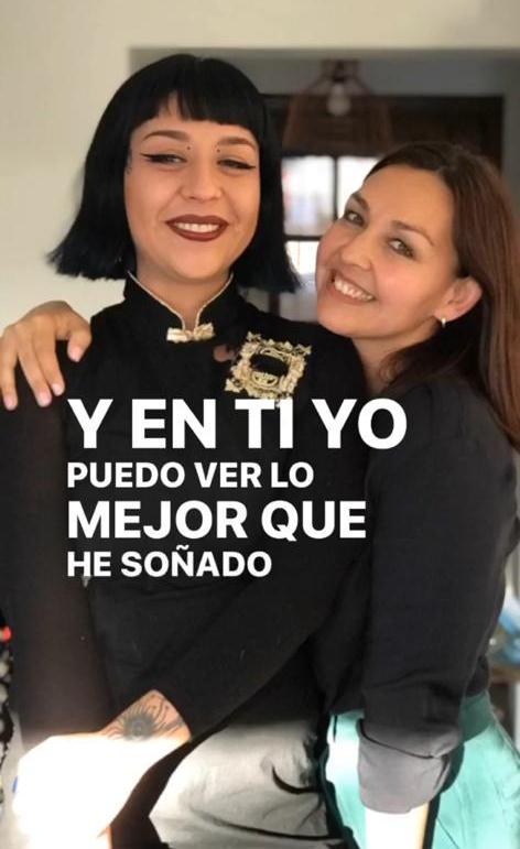 Denisse Malebrán muestra a su estilosa hija de 25 años