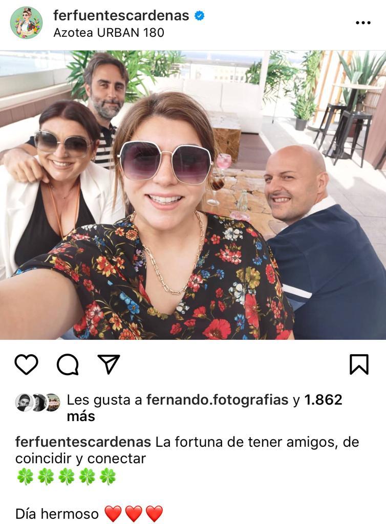 Fernanda Fuentes celebra sus 38 años con aplaudido look juvenil