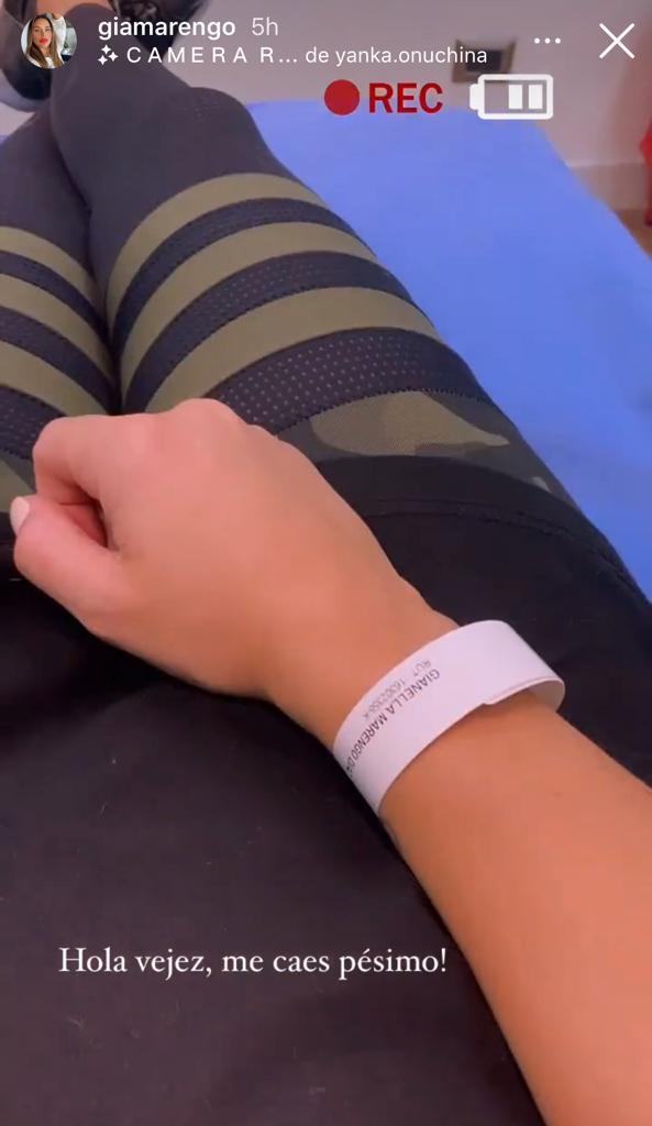 Gianella Marengo terminó en clínica por dolor que no la dejaba respirar