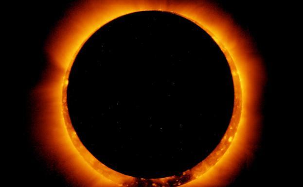 Eclipse del anillo de fuego