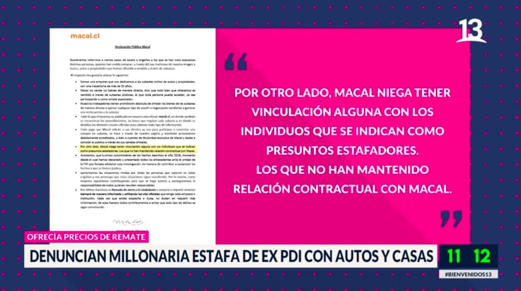 Denuncian a ex PDI por millonaria estafa con autos y casas