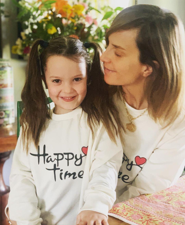 Diana Bolocco y su hija Gracia