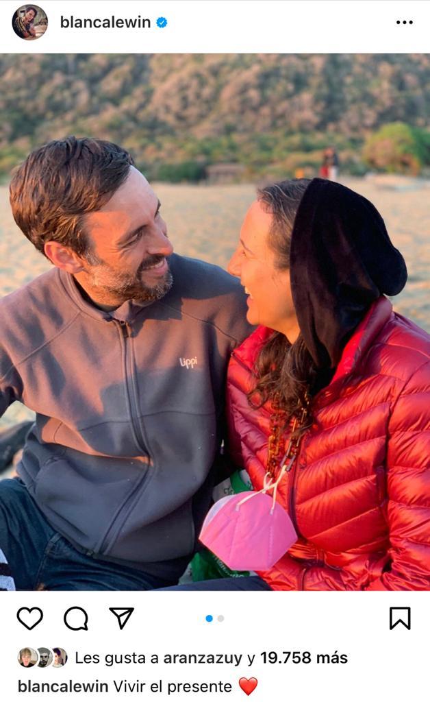 Blanca Lewin y Daniel Matamala encantan con fotos al natural