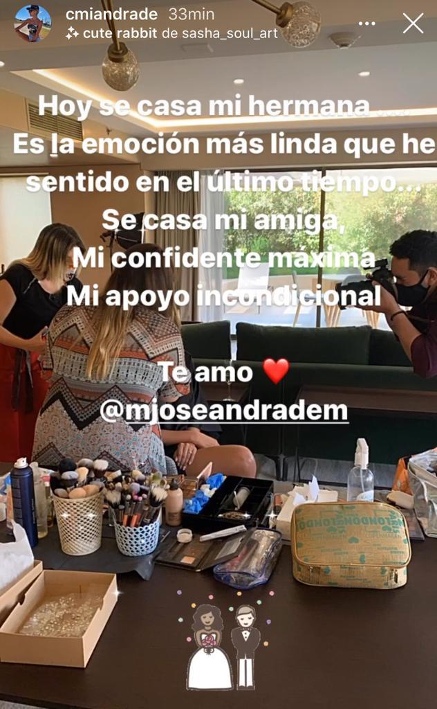 """""""Es la emoción más linda"""": Camila Andrade revela romántica noticia"""