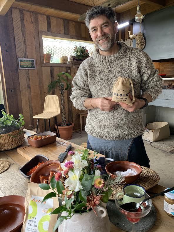 Felipe Braun encanta con romántica postal junto a su esposa