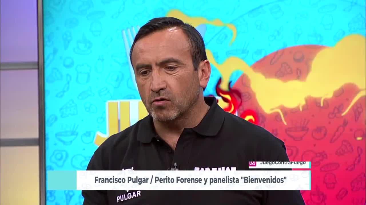 Perito Francisco Pulgar fue el nuevo jurado en Juego Contra Fuego