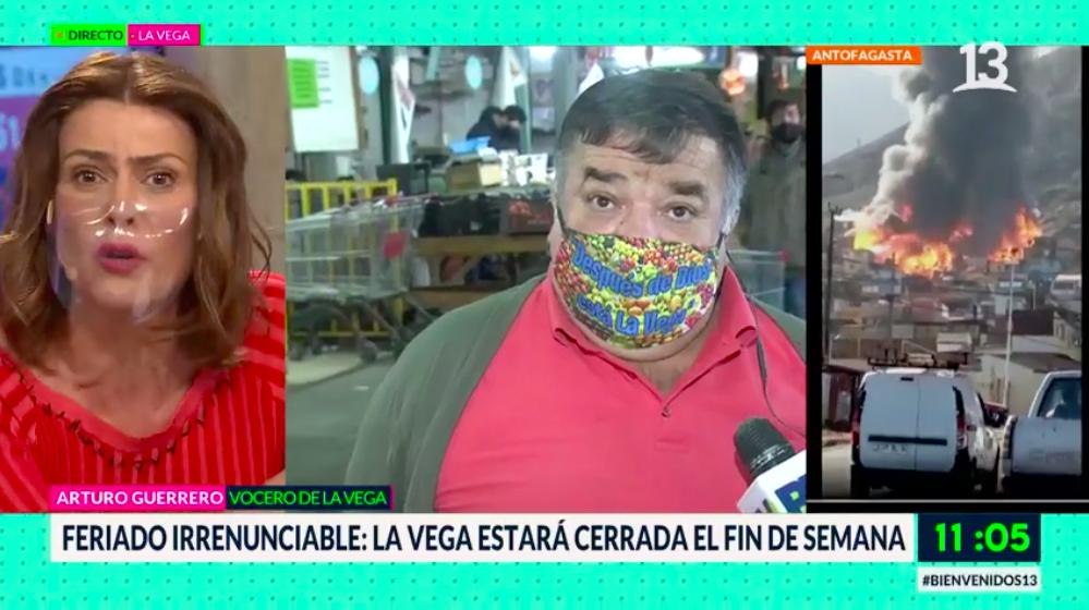 """Arturo Guerrero retó a notero de """"Bienvenidos"""""""