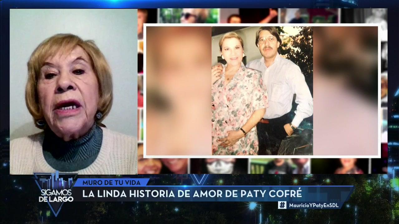 Paty Cofré conversó sobre su matrimonio