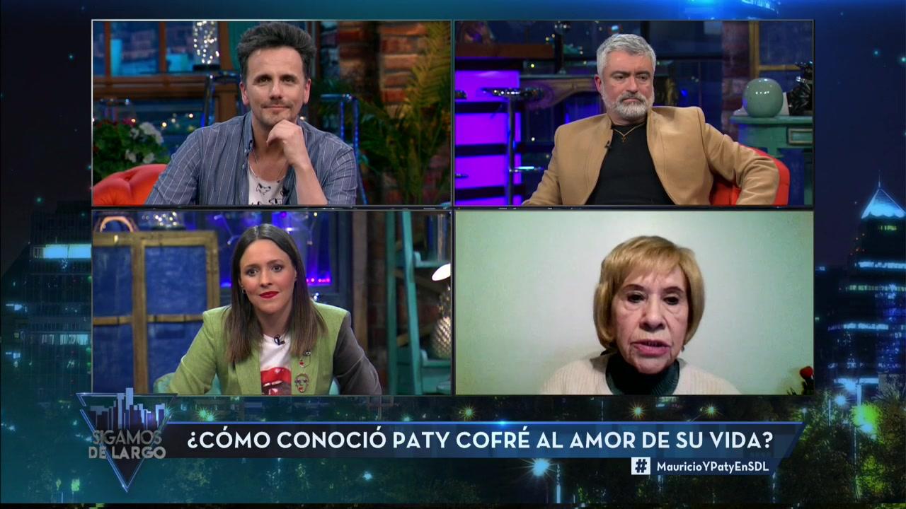 Paty Cofré conversó sobre Alejandro