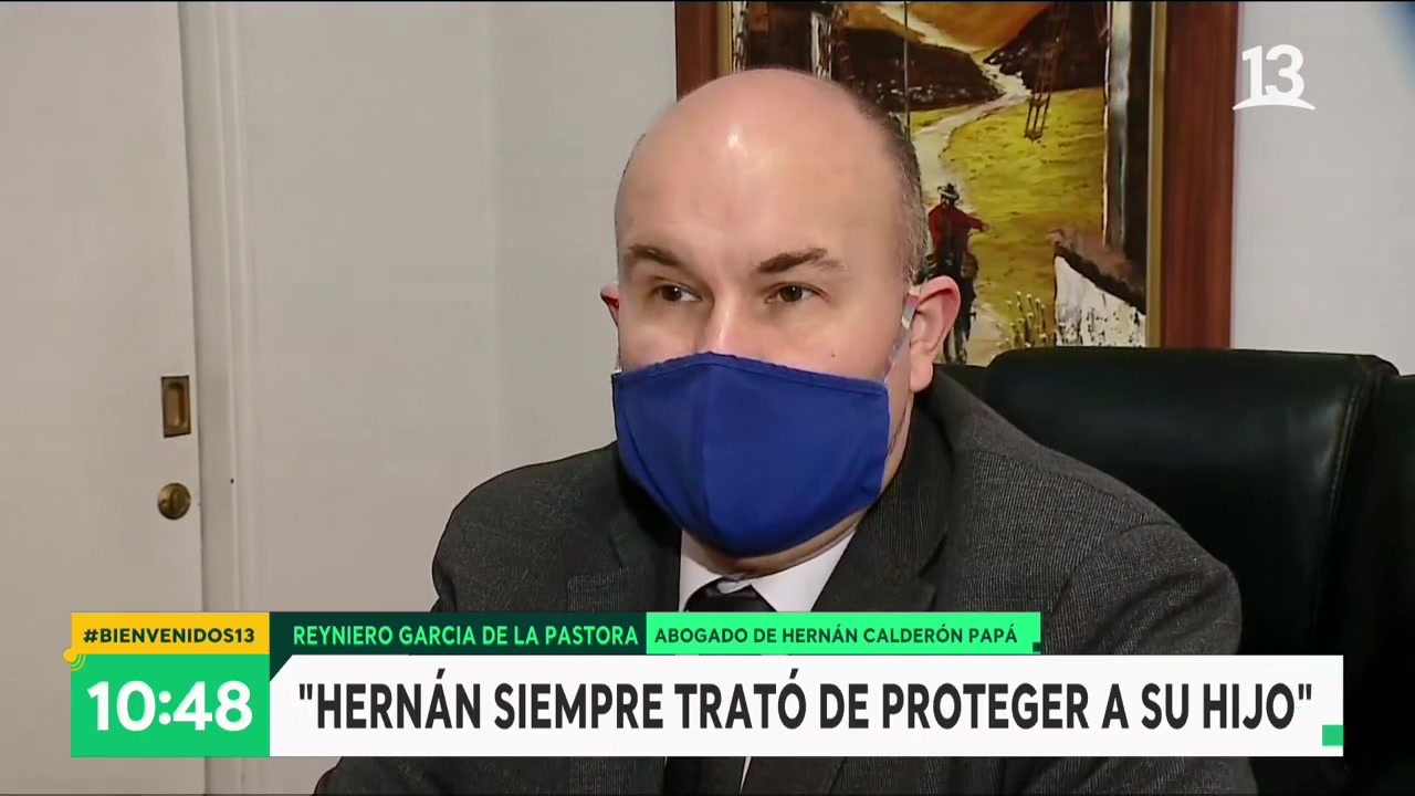 Abogado de Hernán Calderón