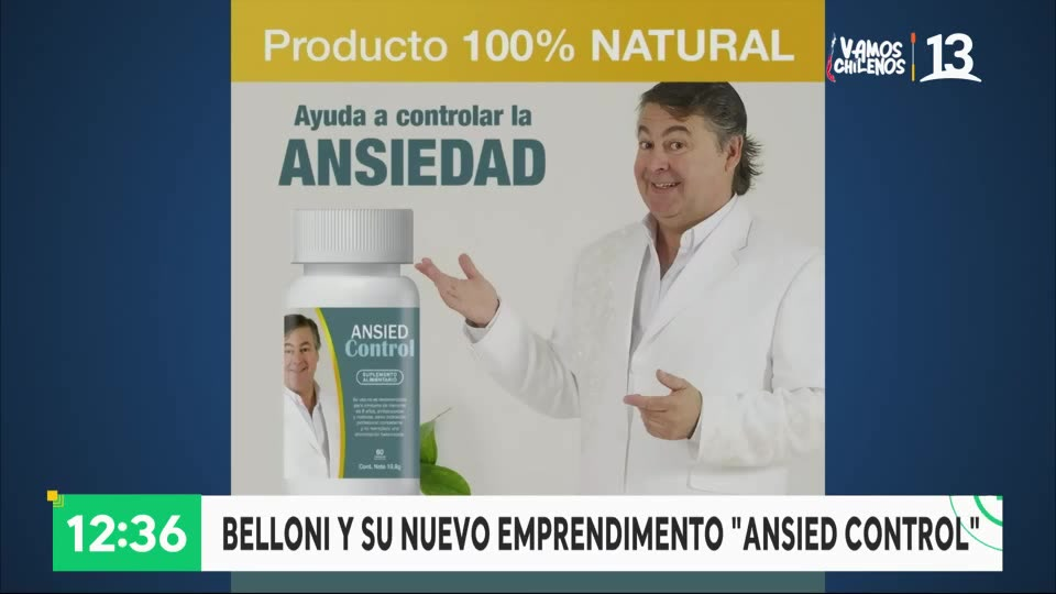 """""""Ansied Control"""" Belloni"""