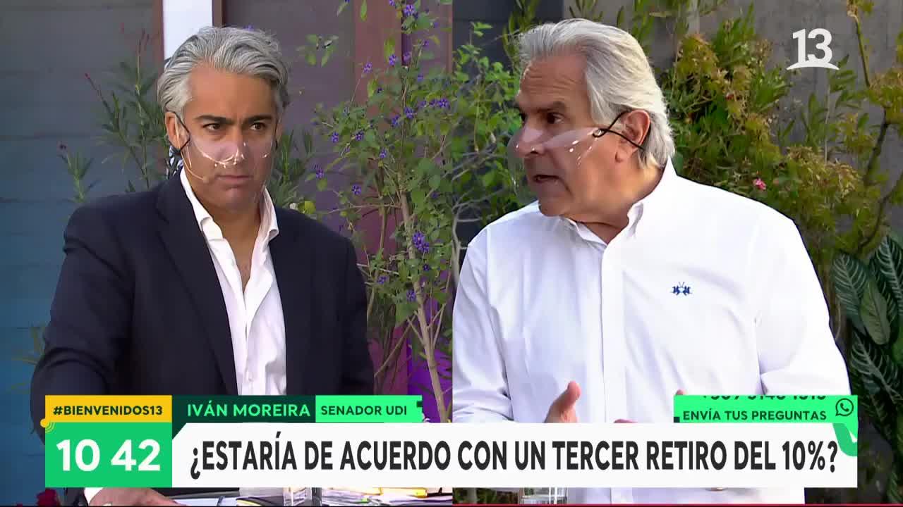 """Iván Moreira y tercer retiro del 10%: """"No es bueno seguir engañando a la gente"""""""
