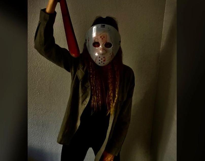 Disfraz de Jason en Halloween