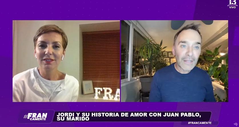 Jordi Castell revela la desconocida forma en que conoció a su marido