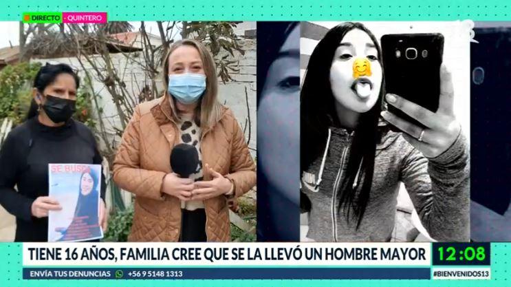 Desesperada búsqueda de adolescente desaparecida en Quintero