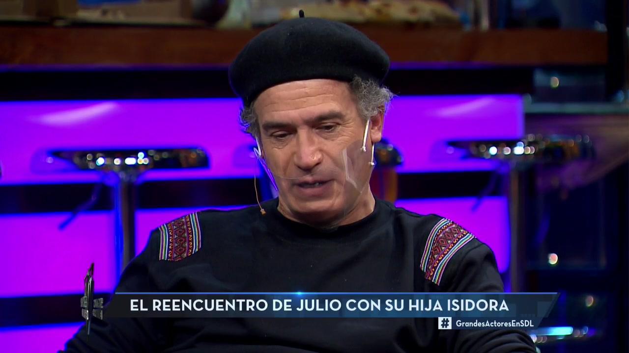 """""""Abandoné a mi hija"""": La confesión de Julio Milostich en """"Sigamos de Largo"""""""