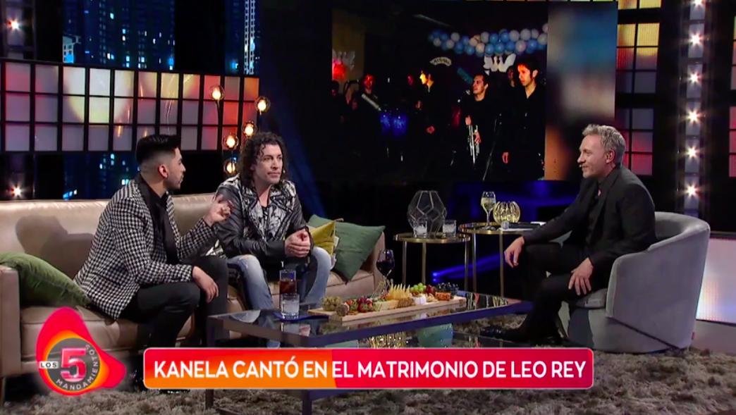 Kanela confesó que le ofrecieron reemplazar a Leo Rey en La Noche