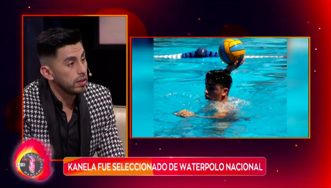 Kanela recordó su época como seleccionado nacional de waterpolo